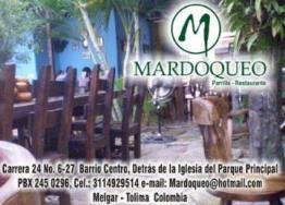 Restaurante Mardoqueo En Melgar