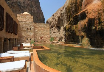Evason Hotel Maì`n en un valle en Jordania, es un Oasis en el desierto